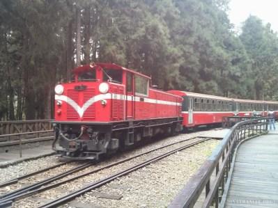 Alishan - train 2