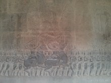 Angkor Archaeological Park - Angkor Wat carving 3