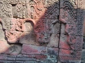 Angkor Archaeological Park - Preah Khan carving 2