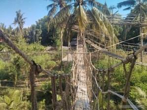 Bohol - Coco farm hostel bamboo skywalk 6