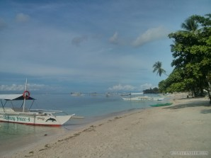 Bohol - Panglao beach morning 1