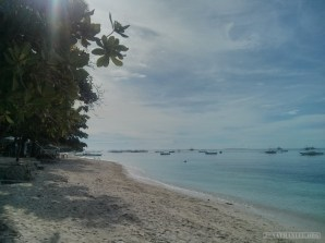 Bohol - Panglao beach morning 2