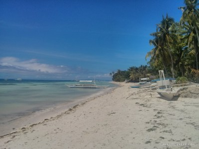Bohol - hidden beach 1