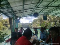 Bohol tour - Loboc river cruise buffet 2