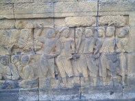 Borobudur - mural 2