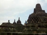 Borobudur - stupas 2