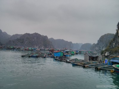 Cat Ba - Halong Bay tour floating village 3