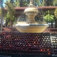 Cebu - Basilica of Santo Nino de Cebu candles