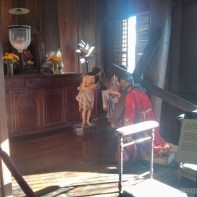 Cebu - casa gorordo religious room