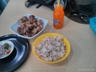 Cebu - liempo with rice lunch