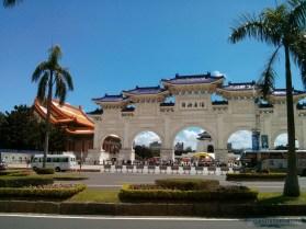 Chiang Kai-Shek memorial - gates 1