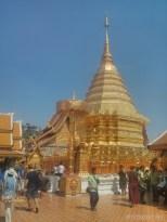 Chiang Mai - Wat Doi Suthep spire 1