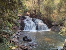 Chiang Mai trekking - day 2 waterfall 4 - 2