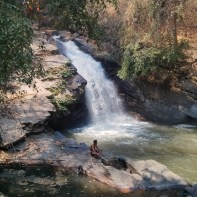 Chiang Mai trekking - day 3 waterfall 1 - 2