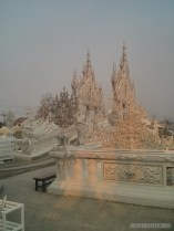 Chiang Rai - white temple decoration 2