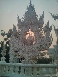 Chiang Rai - white temple decoration 3