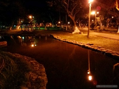 Chiayi - Chiayi park night scene