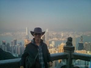 Hong Kong - Victoria peak portrait