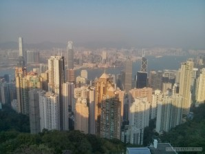 Hong Kong - Victoria peak view 2