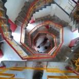 Hualien - Taroko Tianxiang tower staircase