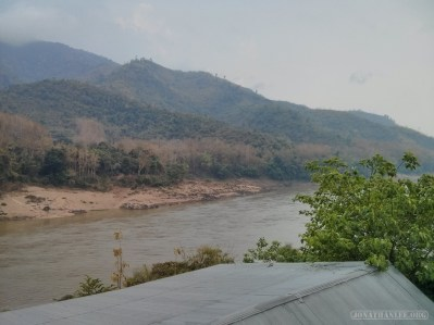 Huay Xai to Luang Prabang - Pakbeng morning view 1