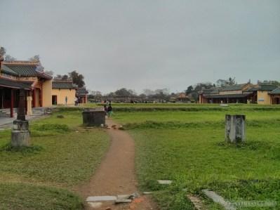 Hue - Citadel lawn 1