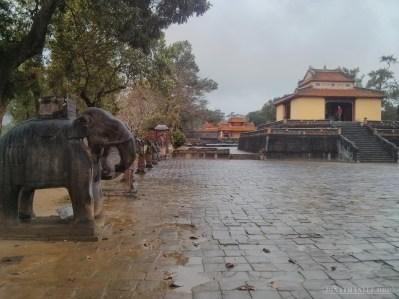 Hue - Minh Mang tomb 1