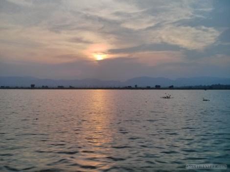 Inle Lake - sunset 4