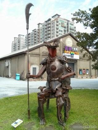 Kaohsiung - Pier 2 art junk piece