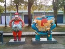 Kaohsiung - Pier 2 art statue 2
