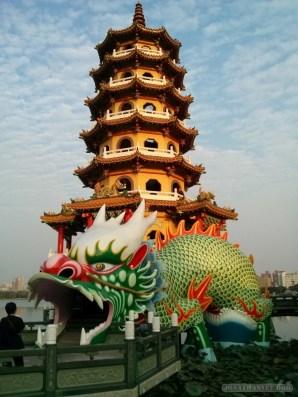 Kaohsiung - lotus pond dragon tower