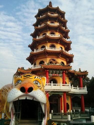 Kaohsiung - lotus pond tiger tower