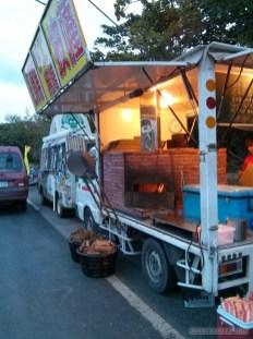 Kenting - night market pizza