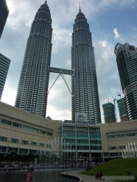Kuala Lumpur - Patronas towers from distance
