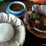 Kuta Bali - nasi babi guling 2