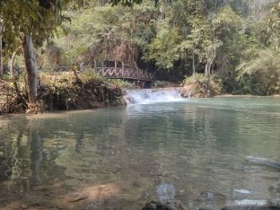 Luang Prabang - Kuang Si waterfall 1