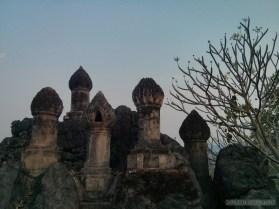Luang Prabang - Mount Phousi relic