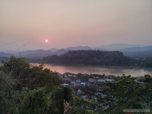 Luang Prabang - Mount Phousi sunset view 1