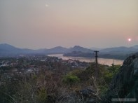 Luang Prabang - Mount Phousi sunset view 2