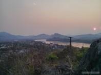 Luang Prabang - Mount Phousi sunset view 2