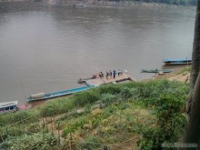 Luang Prabang - river view 2