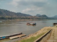 Luang Prabang - river view ferry