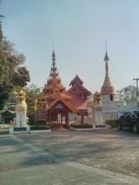 Mae Hong Son - Wat Phrathat Doi Kongmu 1