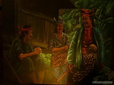 Malacca - Sultanate Museum art