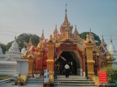 Mandalay - Kuthodaw Pagoda 1