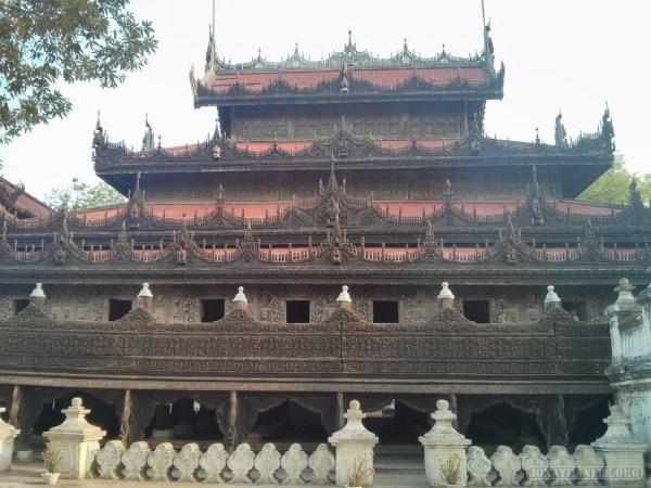 Mandalay - Shwenandaw Kyaung 7