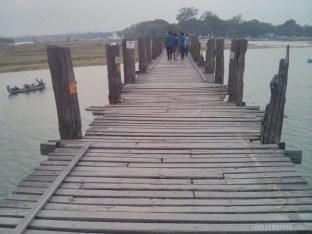 Mandalay - U Bien Bridge 6