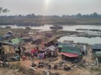 Mandalay - biking around Ayeyarwady river 2