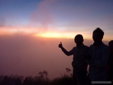 Mount Batur - sunrise group photo 4