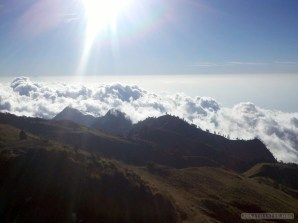 Mount Rinjani - first day scenery 11